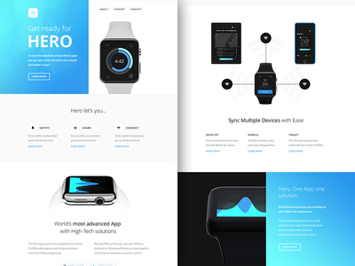 Freebie PSD+Sketch: Hero (Responsive Html Email Newsletter)