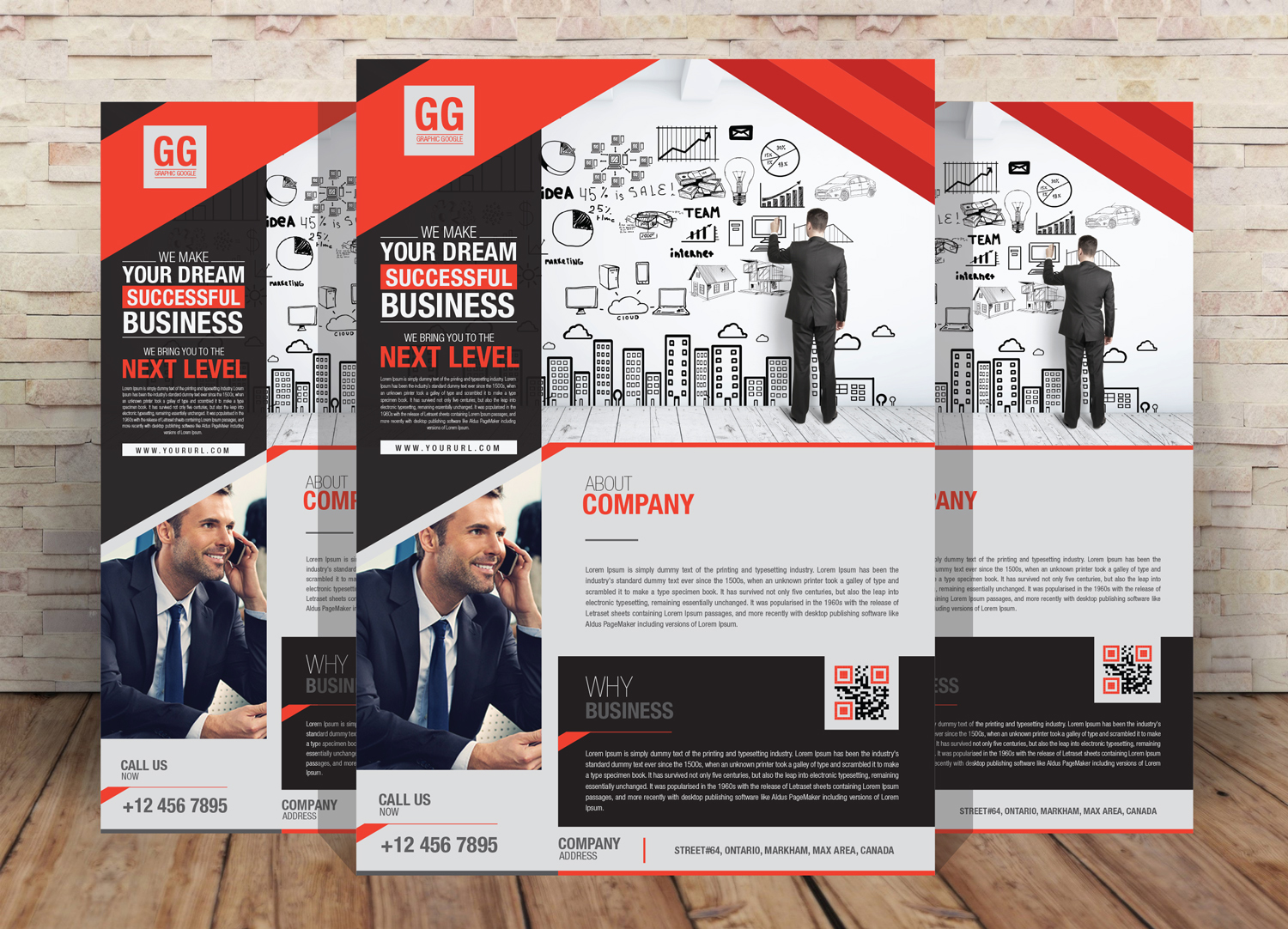 Free Business Flyer Design Template
