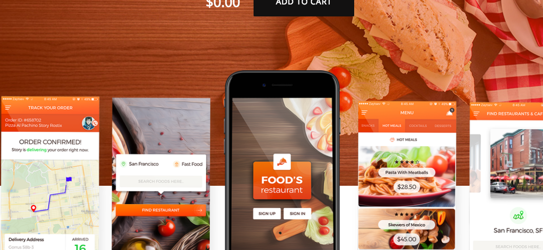 Food UI Kit