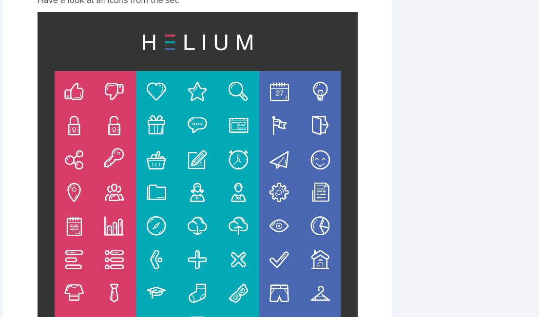 Freebie: Helium Icon Set (AI, EPS, SVG, Icon Font) | Codrops