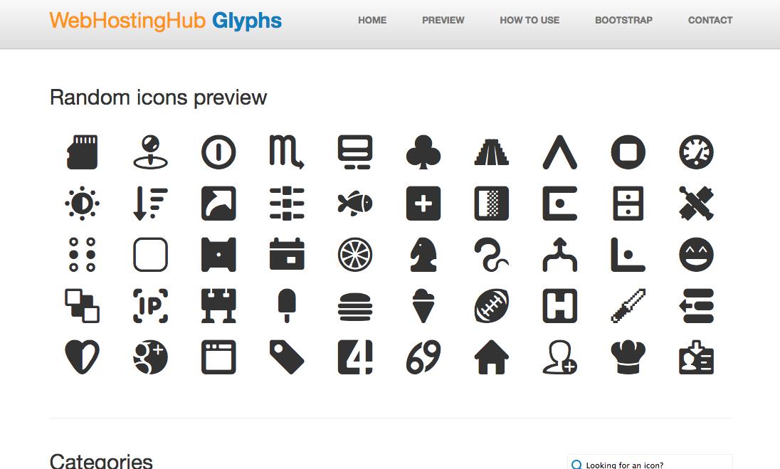 WebHostingHub Glyphs