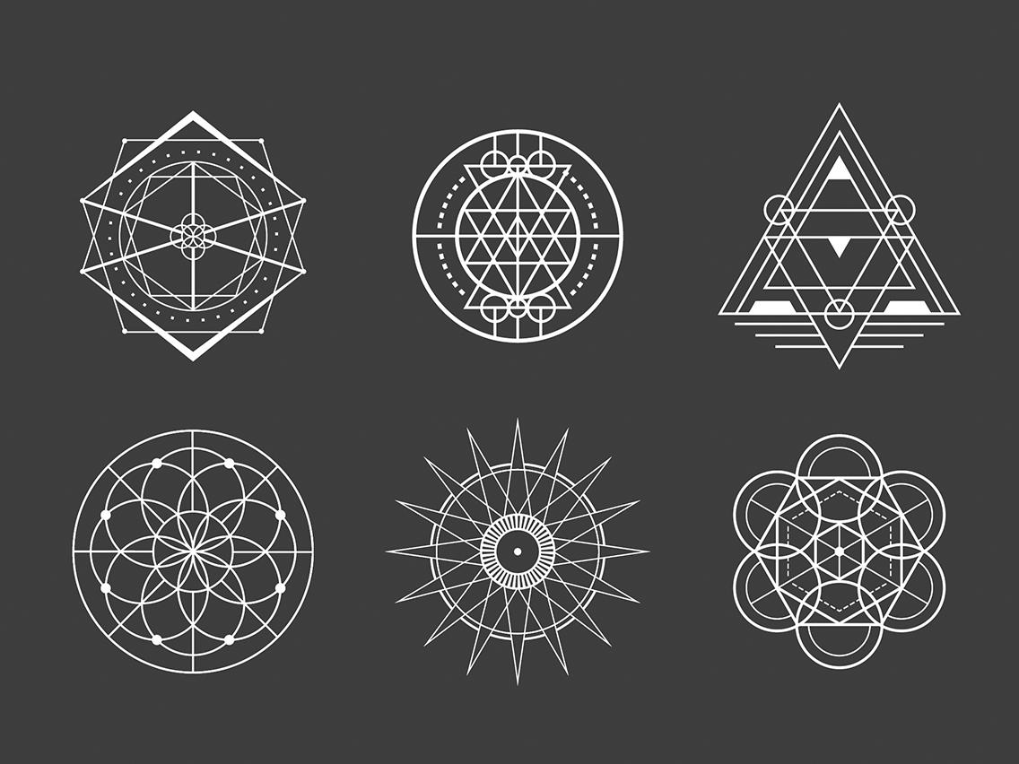 幾何学模様を描くにはデザイン事例から実際の描き方までを解説ferret