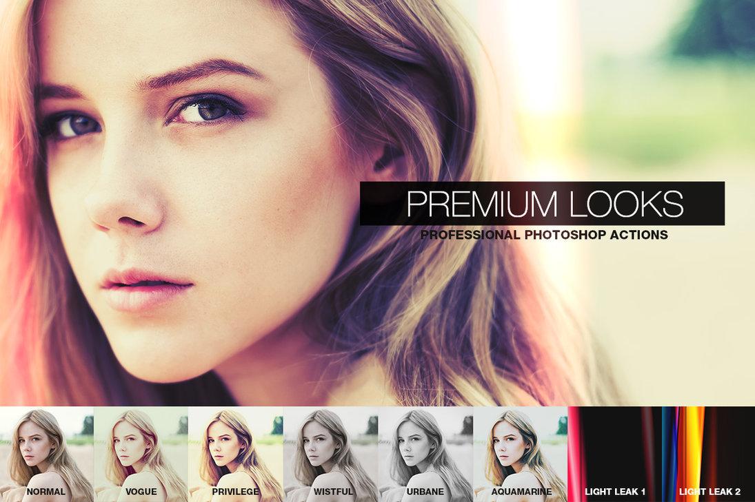 Premium Looks Photoshop Action
