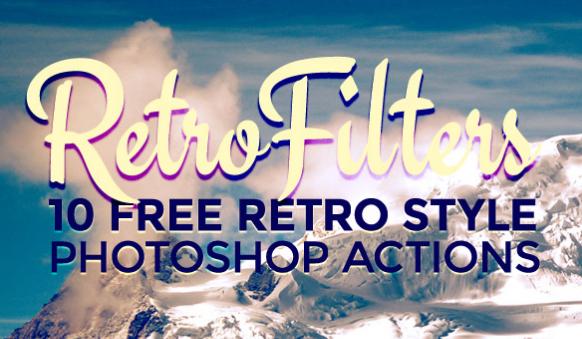 10 Retro Style Actions