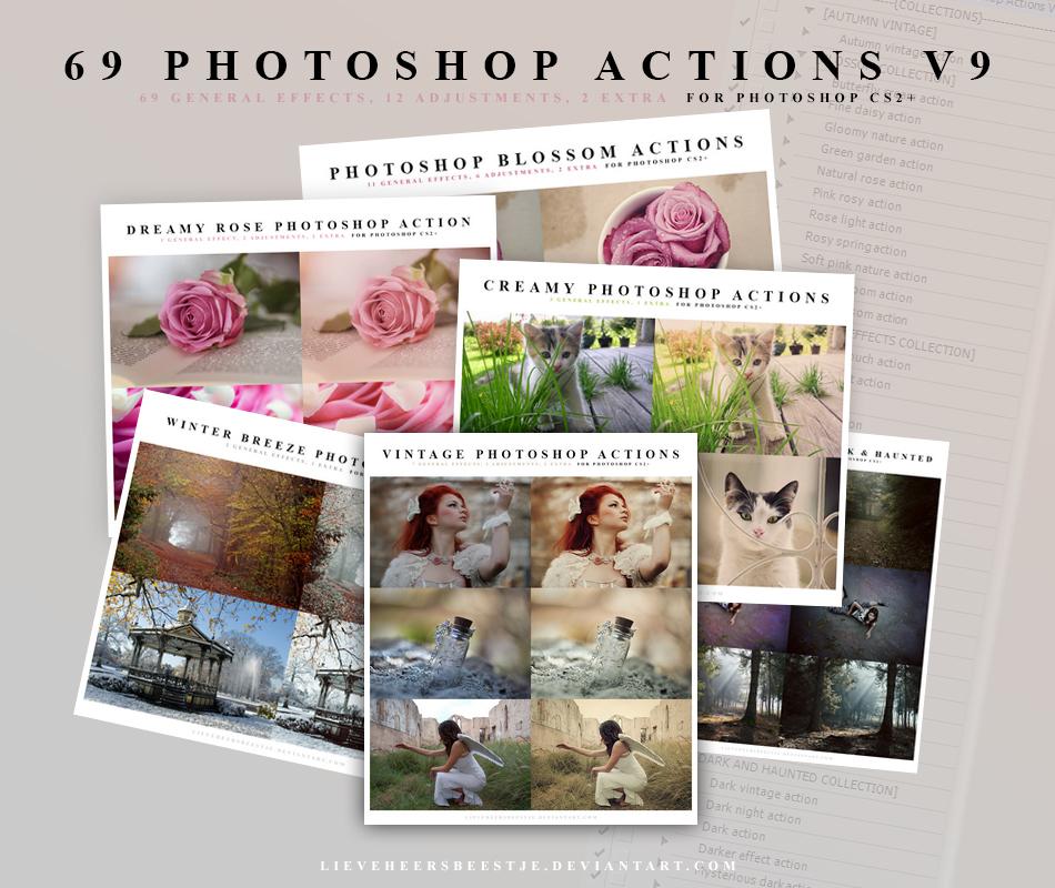 69 Photoshop Action V9
