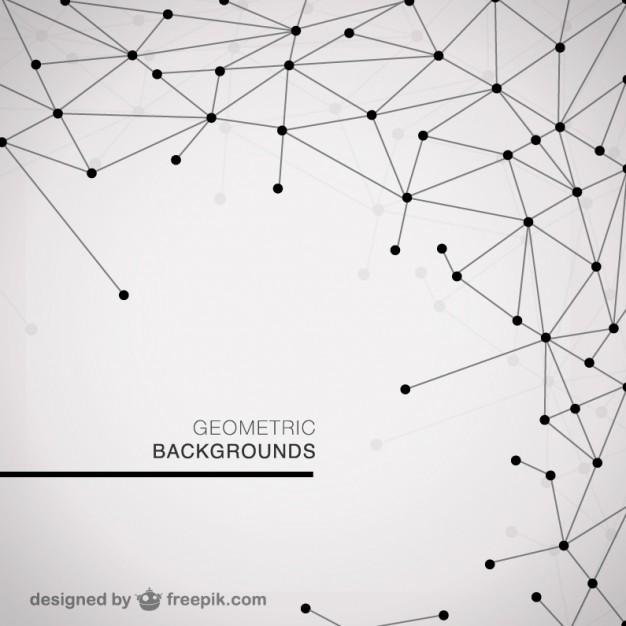 1. Modern geometric background
