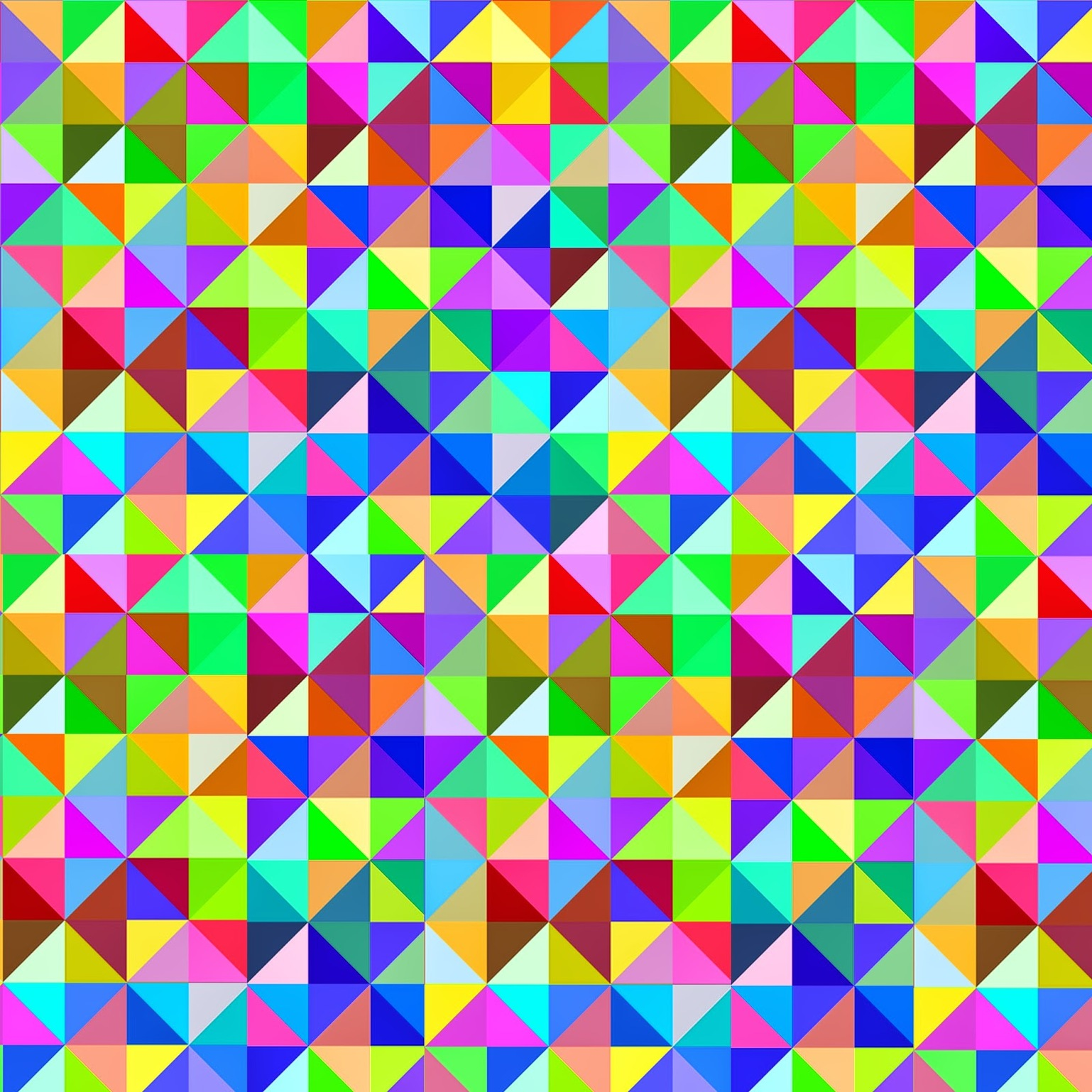 Doodlecraft: Gigantic Geometric Colorful Triangle FREEBIES Printables! - Stock Image
