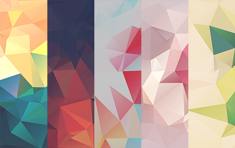 LOW-POLY POLYGONAL TEXTURES