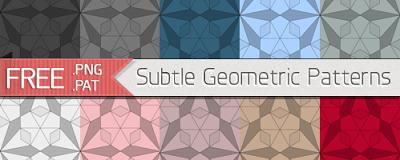 Subtle Seamless Pattern 1 Geometric Patterns