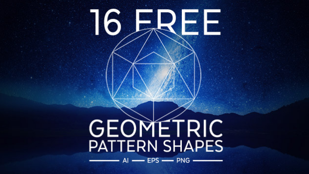 16 Free Geometric Pattern Shapes in AI, EPS & PNG Format