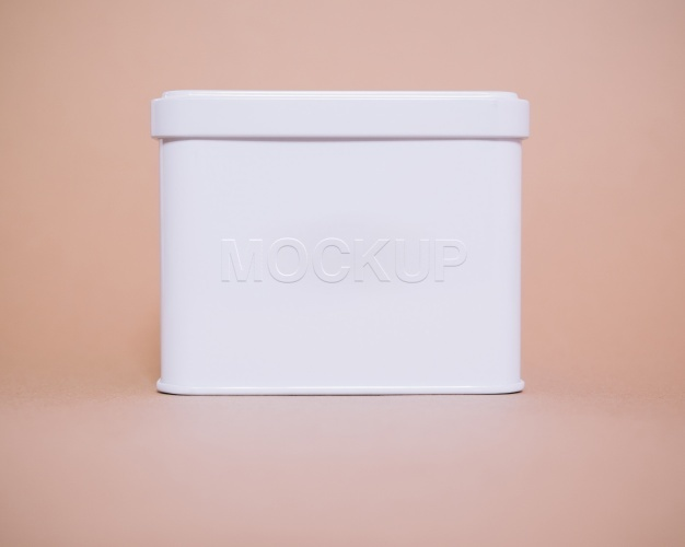 White box mock up design