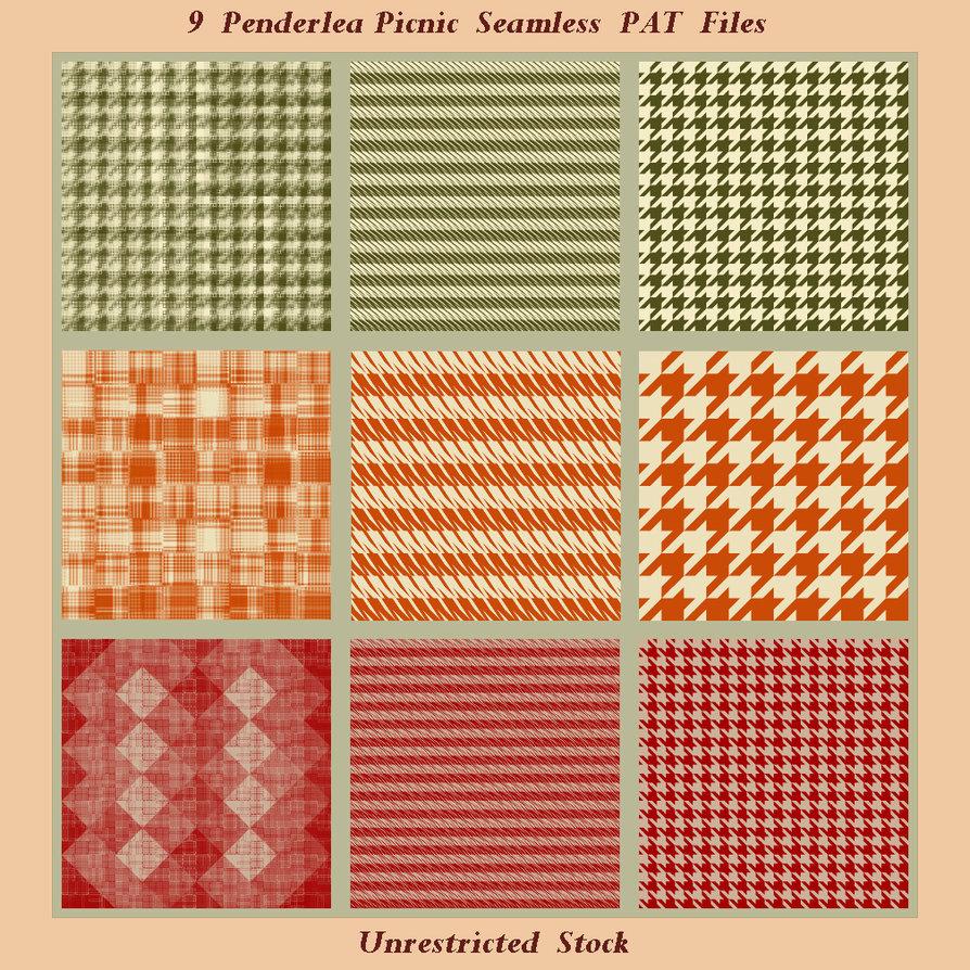 9 Penderlea Picnic Seamless PAT Files
