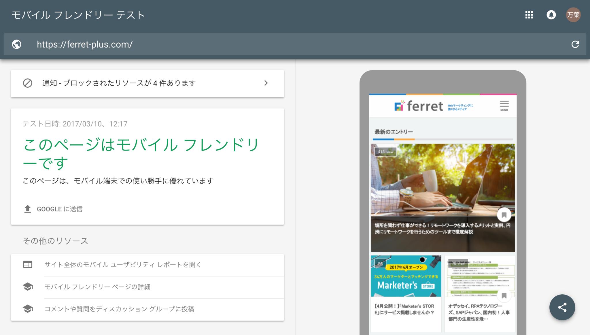モバイル_フレンドリー_テスト結果 Google_Search_Console.png