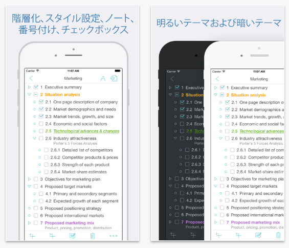 Cloud Outliner2(iOS)