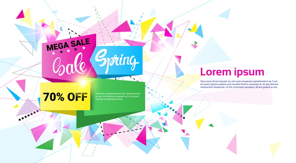 Free EPS file Special offer sale abstract template vector 08 download