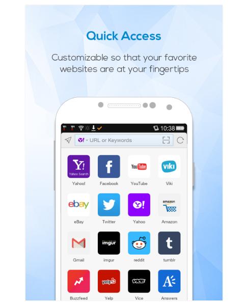 Maxthon Android Web ブラウザー
