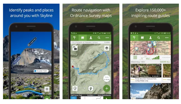 ViewRanger GPS(Android)