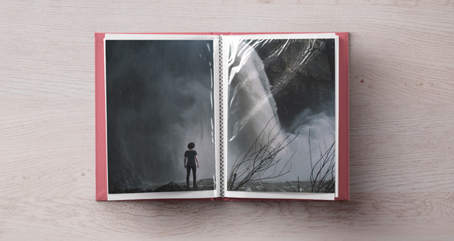 Psd Photo Album Mockup Template