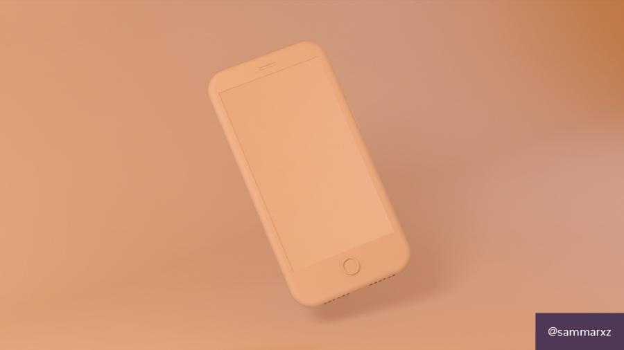 Free PSD Smartphone Mockup