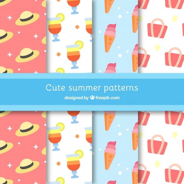 Summer accessories patterns