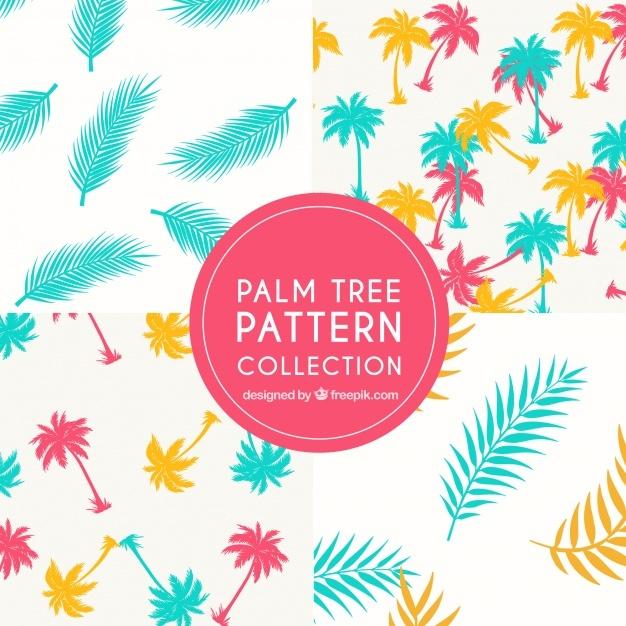 Beautiful colorful decorative patterns