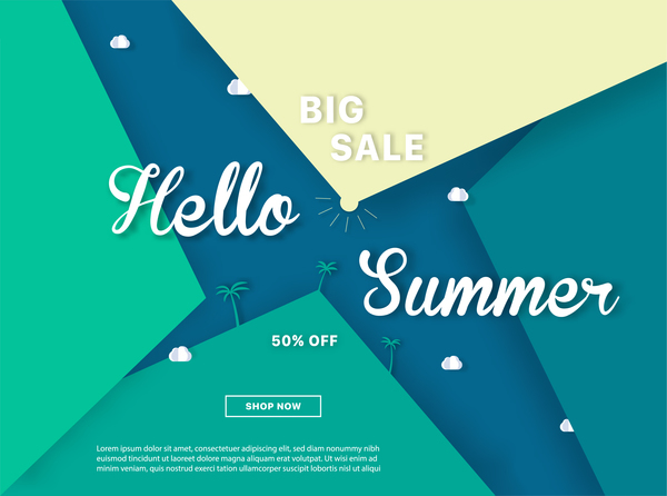 Free JPG file special offer summer sale background vector 06 download