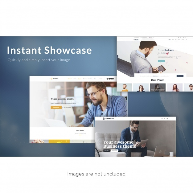 Web page mock up