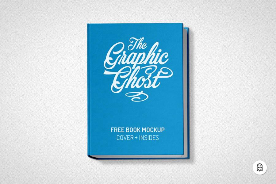 Free Realistic Book Mockup