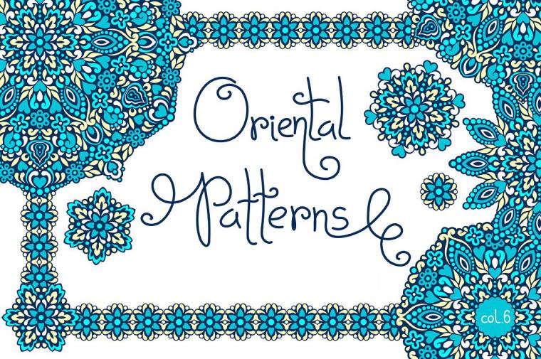 4 FREE ORIENTAL PATTERNS