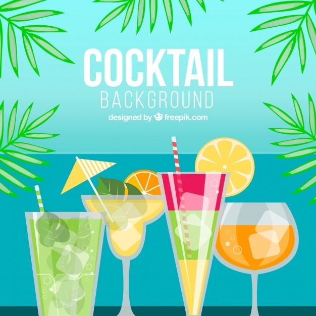 Cocktail background design