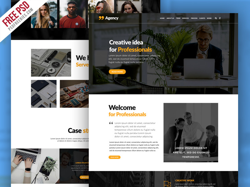Personal Portfolio And Corporate Website Template