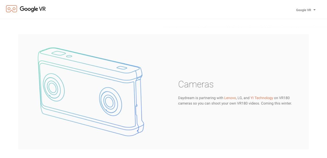 VR180専用カメラ