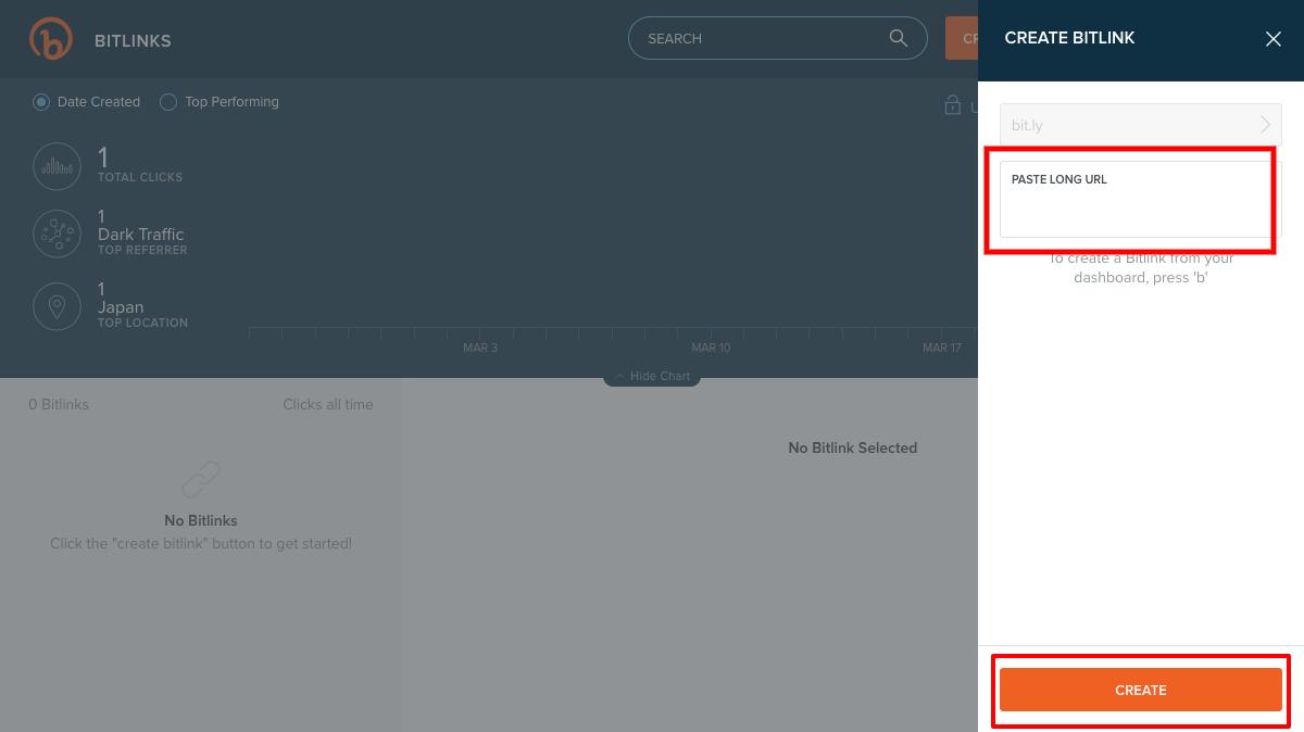 bitly(ビットリー)のキャプチャで短縮URLの作成方法を解説
