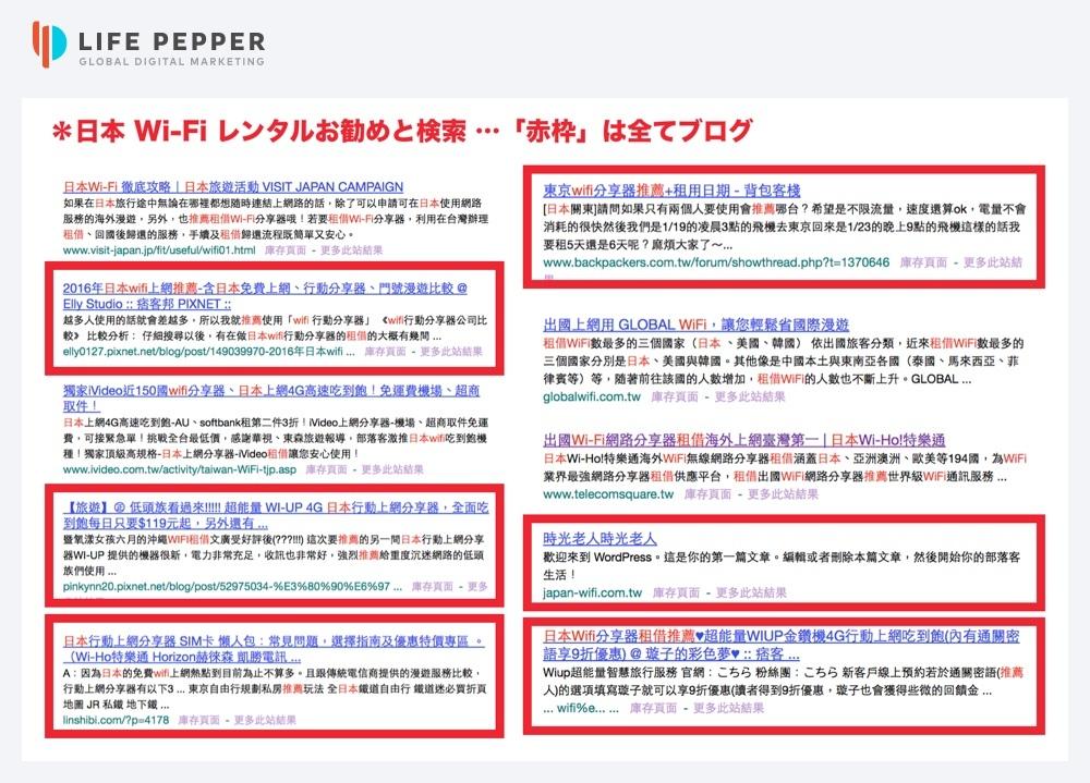 LIFE PEPPER台湾インフルエンサーマーケティング06