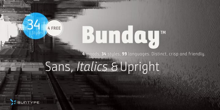 Bunday Sans