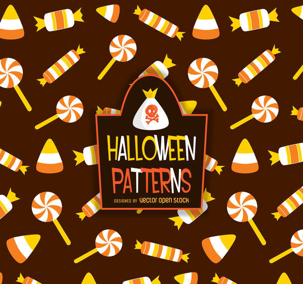 HALLOWEEN CANDY PATTERN