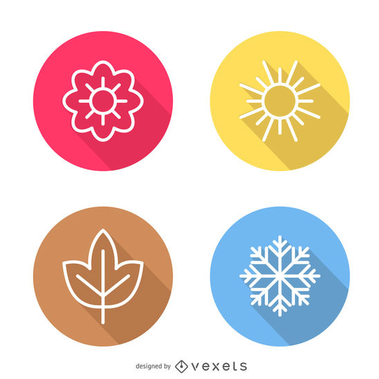 WEATHER SEASON ICONS