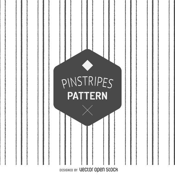 HAND DRAWN PINSTRIPES PATTERN