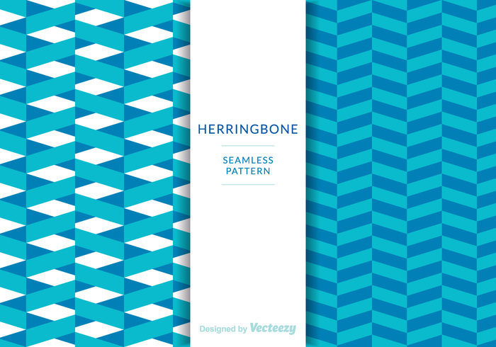 Free Herringbone Patterns Vector