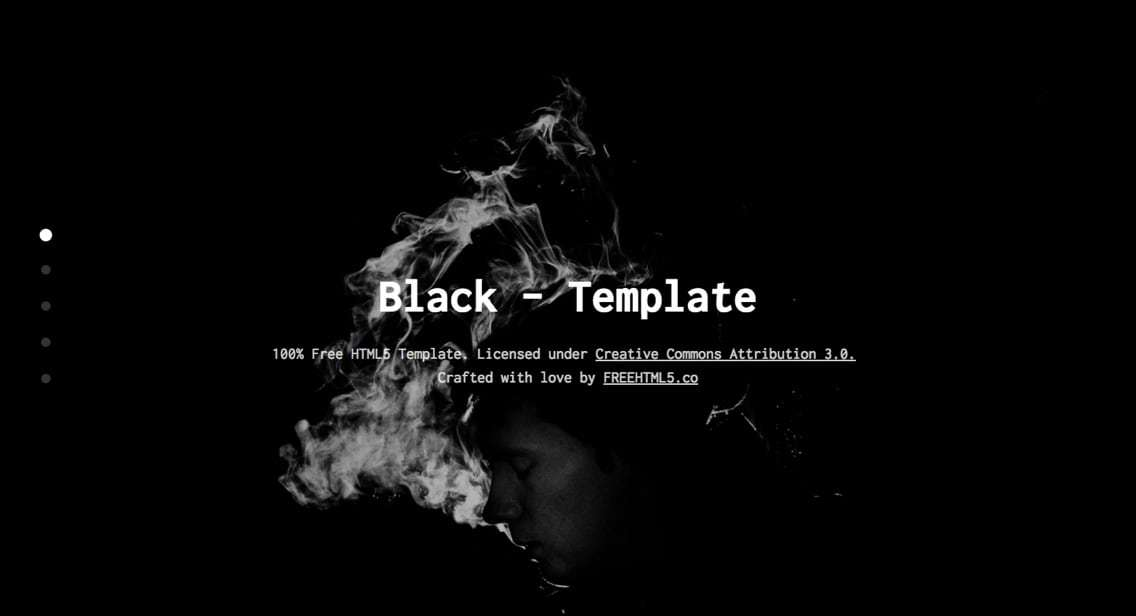 Bootstrap_-_Black Template
