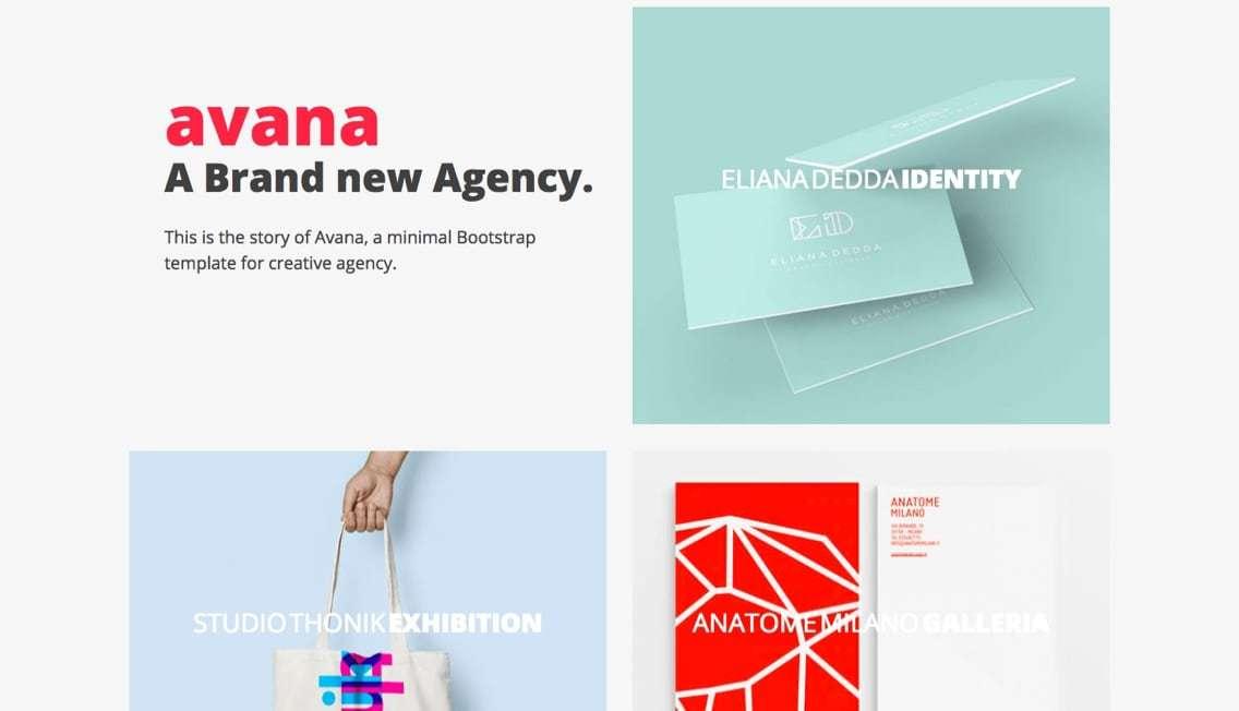 Bootstrap_-_Avana