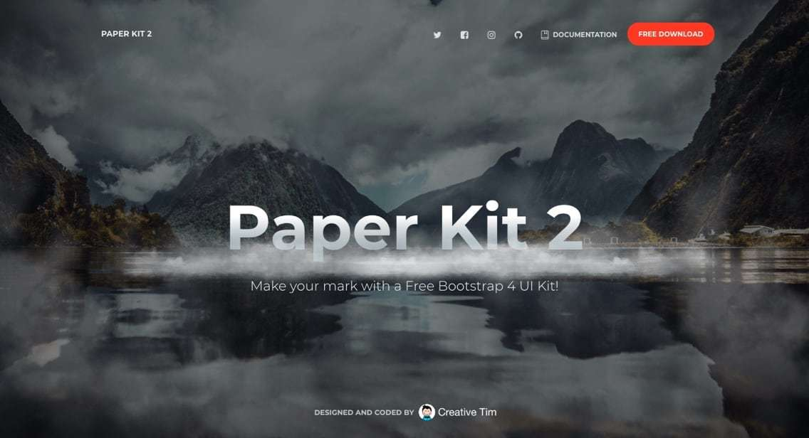 Bootstrap_-_Paper Kit 2