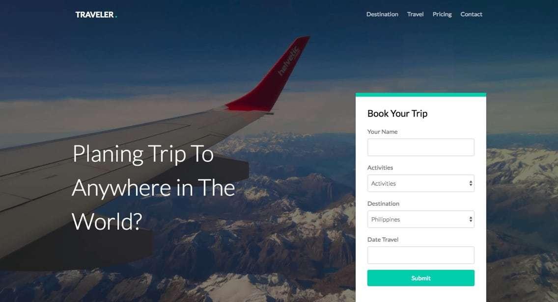 Bootstrap_-_Traveler
