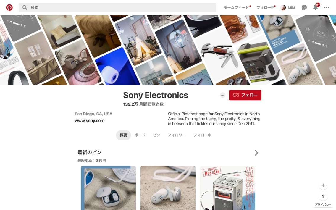 Pinterest_Sony Electronics