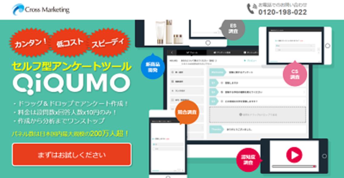 QiQUMO(キクモ)