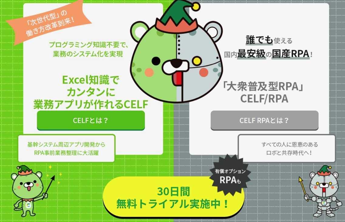 CELF RPA オプション
