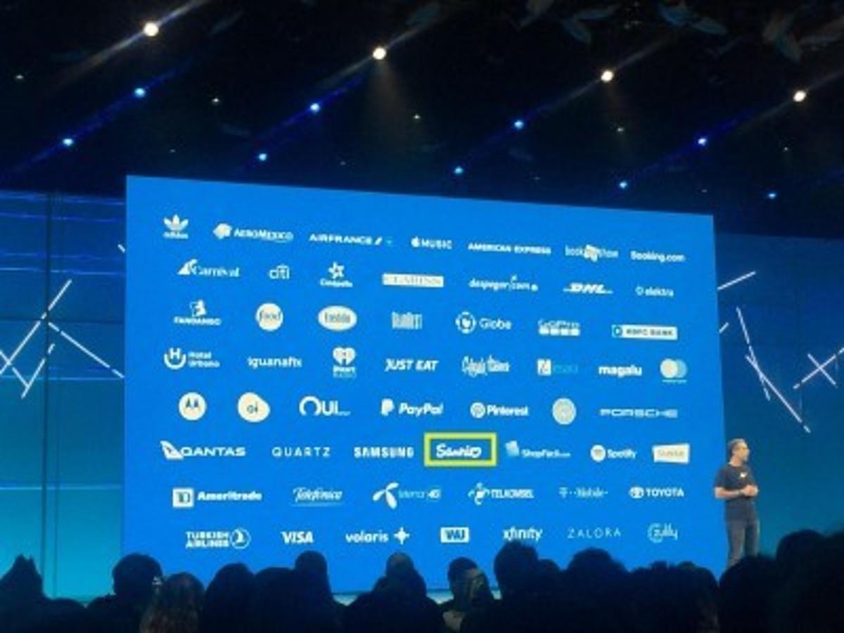「Facebook社主催、2018年世界開発者会議(F8)にて株式会社サンリオエンターテイメントのメッセンジャーでのチャットボット活用が紹介。」の見出し画像