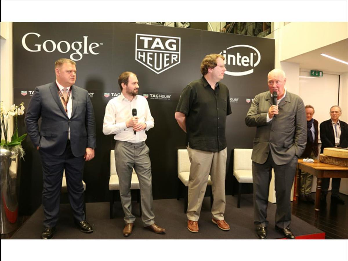 「タグ・ホイヤー、グーグル、インテル、スイス製スマートウォッチでの協業を発表」の見出し画像