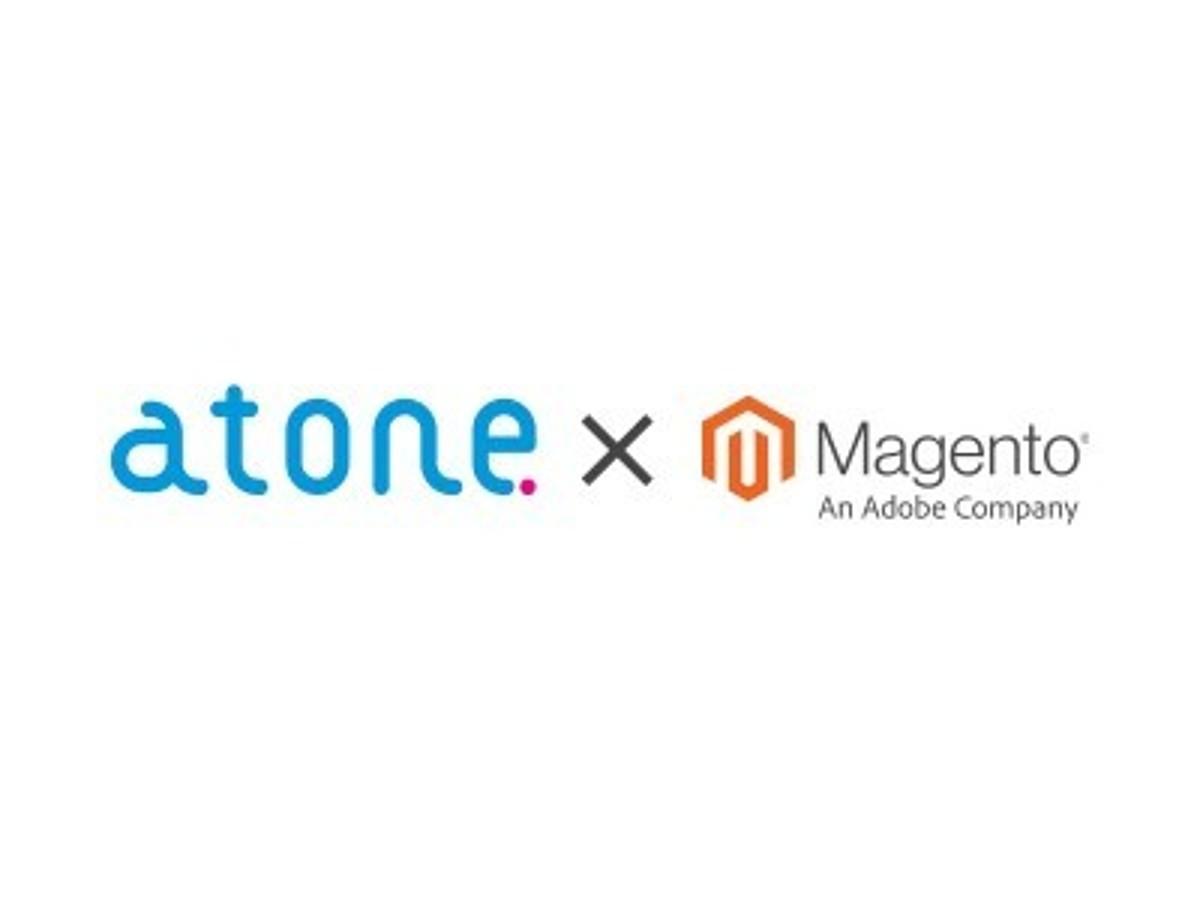 「カードレス決済サービス「atone」Eコマースプラットフォーム「Magento」との連携を開始」の見出し画像