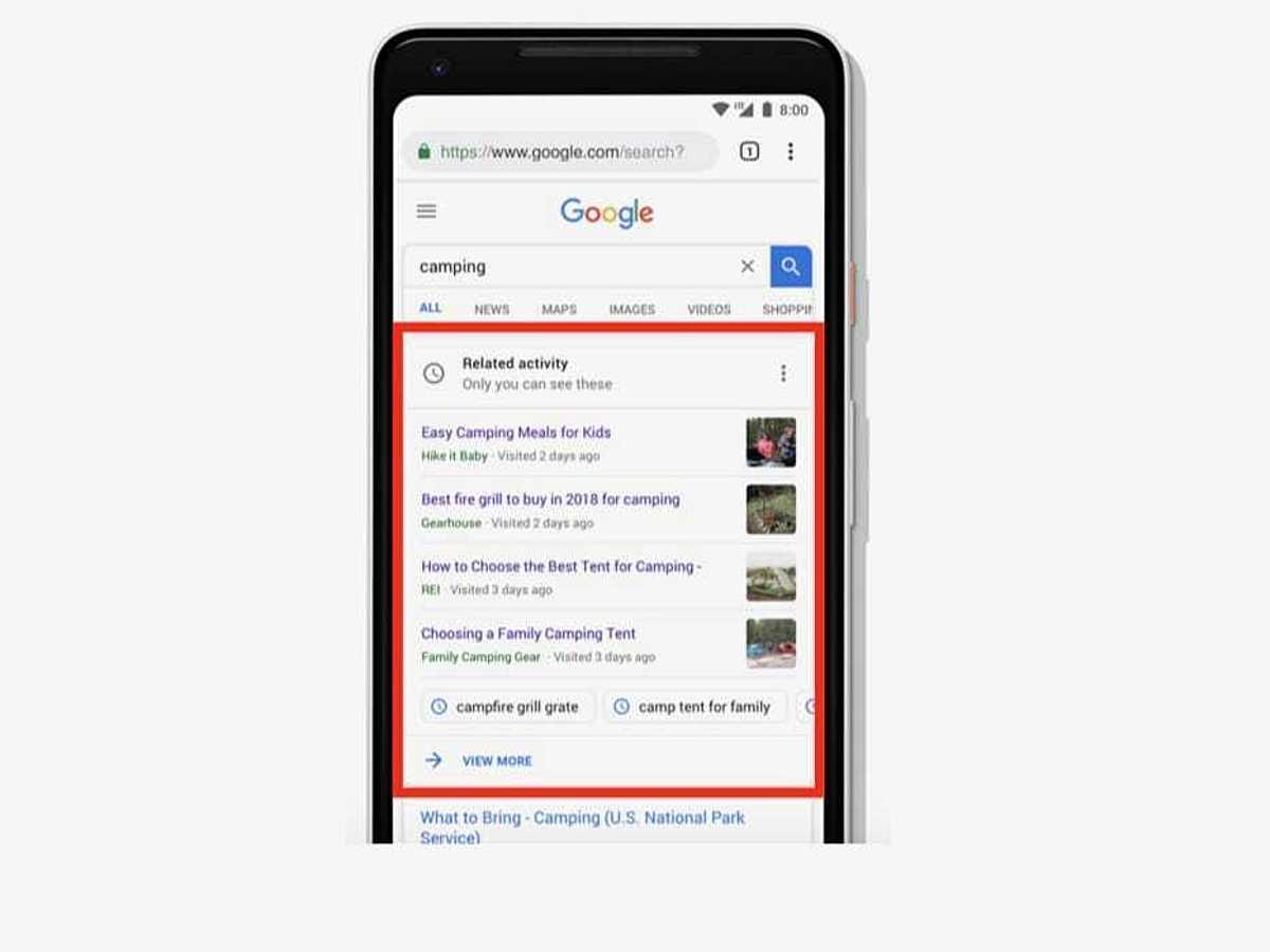 「検索流入に影響あり?Google検索の新機能「アクティビティカード」とは」の見出し画像